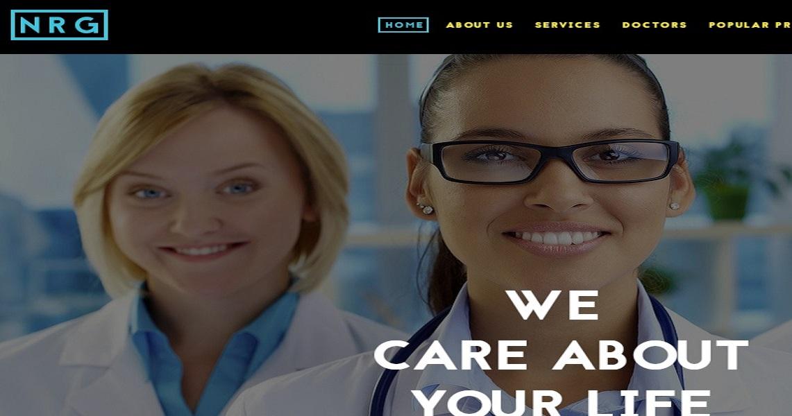 develop hopital website in Ibadan